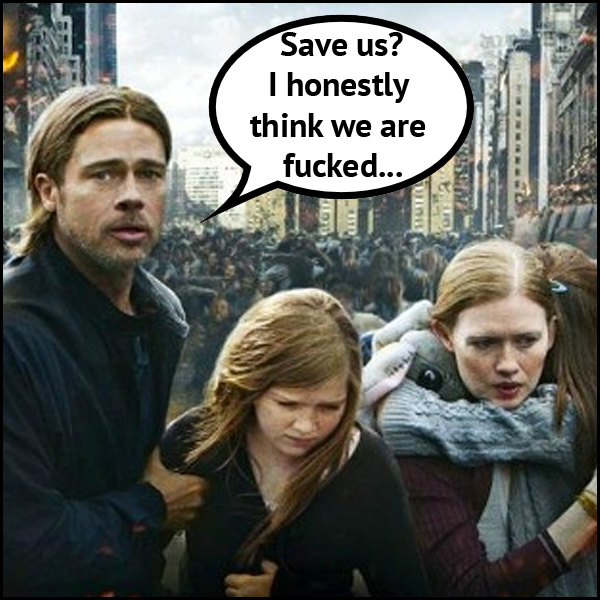 World War What? Brad Pitt Has Lessons For All Of Us | TheFurFiles